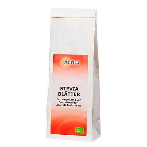 Stevia Blätter geschnitten - 1