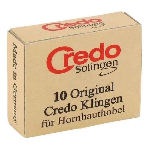 Credo Ersatzklingen zum Credo Hornhauthobel 4744 - 1