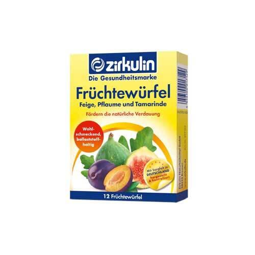 Zirkulin Früchtewürfel - 1