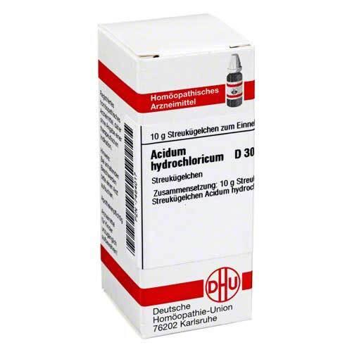 DHU Acidum hydrochloricum D 30 G - 1