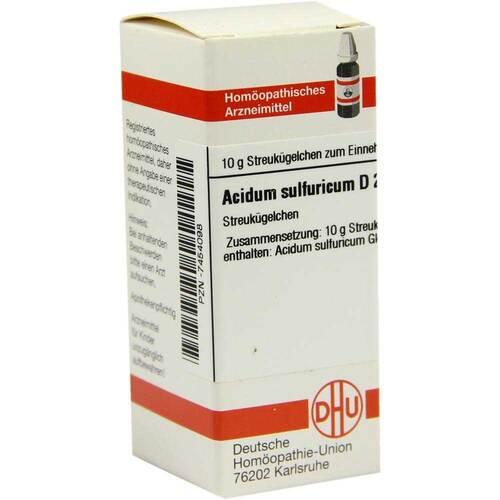 DHU Acidum sulfuricum D 200 Globuli - 1