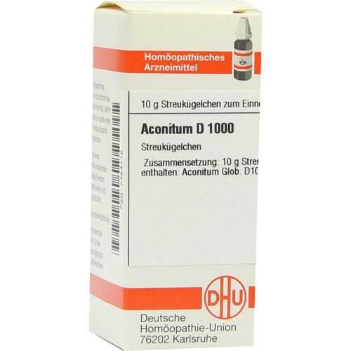 Aconitum D 1000 Globuli - 1