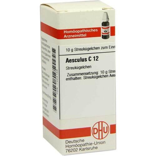 DHU Aesculus C 12 Globuli - 1