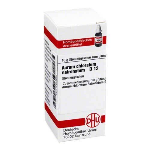 Aurum chloratum natronatum D - 1