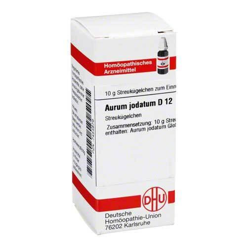 DHU Aurum jodatum D 12 Globuli - 1