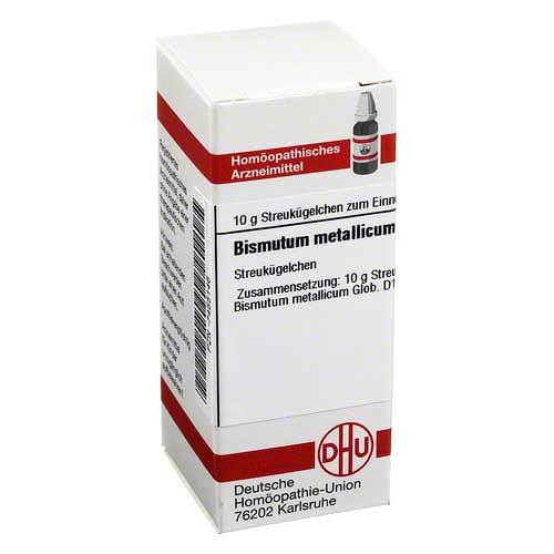 DHU Bismutum metallicum D 12 Globuli - 1