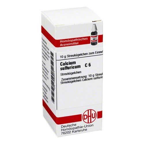 Calcium sulfuricum C 6 Globuli - 1