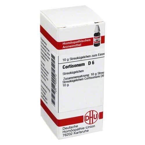 Cortisonum D 6 Globuli - 1