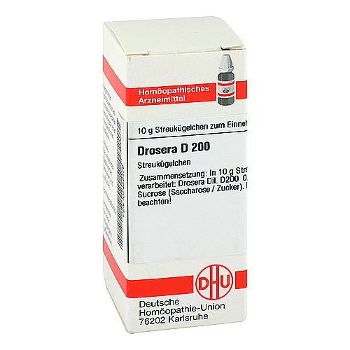 DHU Drosera D 200 Globuli - 1