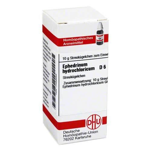 DHU Ephedrinum hydrochloricum D 6 Globuli - 1