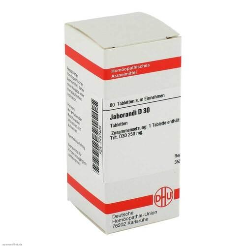 DHU Jaborandi D 30 Tabletten - 1