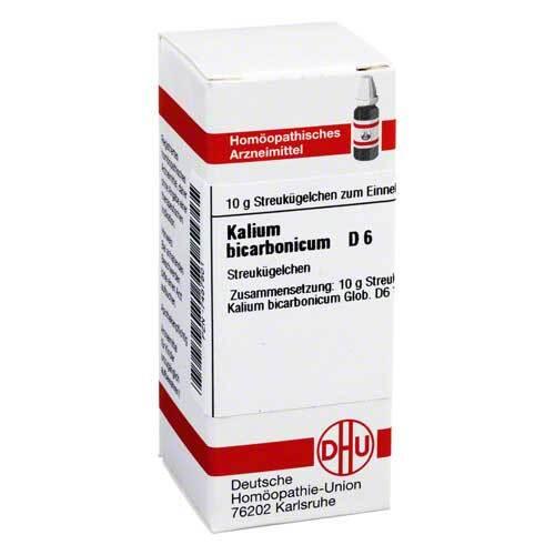Kalium bicarbonicum D 6 Globuli - 1