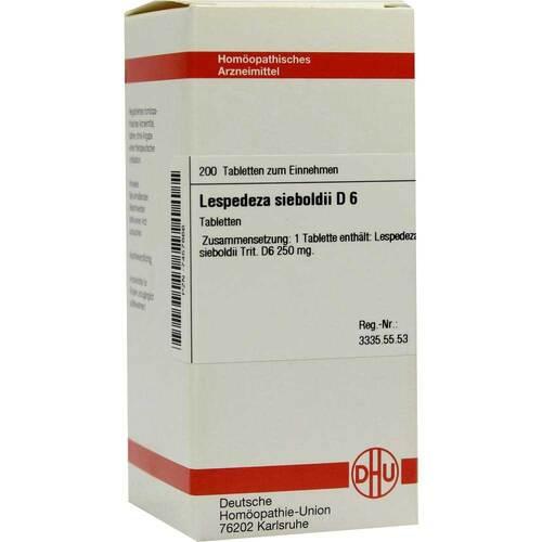 DHU Lespedeza sieboldii D 6 Tabletten - 1
