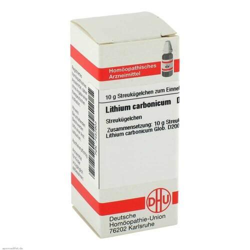 Lithium carbonicum D 200 Globuli - 1