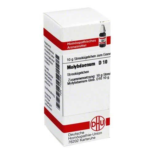 DHU Molybdaenum D 10 Globuli - 1
