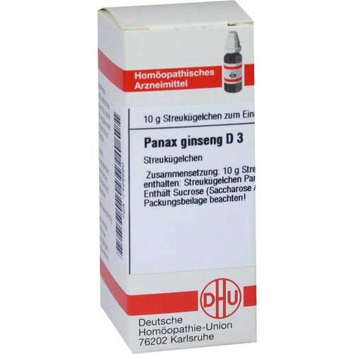 Panax Ginseng D 3 Globuli - 1
