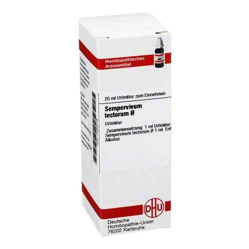 DHU Sempervivum tect. Urtinktur Dilution - 1