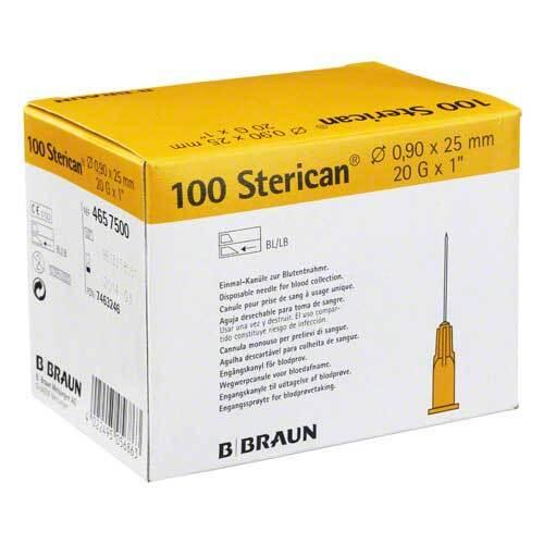 Sterican Kanülen 20Gx1 0,9x25 mm - 1