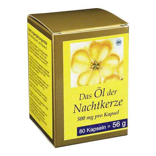 Nachtkerze Öl Kapseln 500 mg - 1