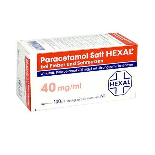 Paracetamol Saft Hexal - 1