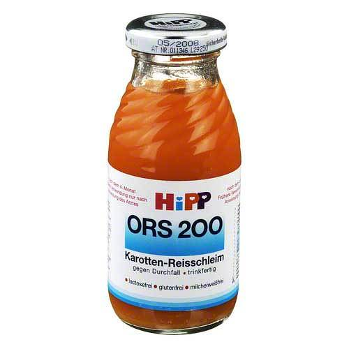 Hipp Ors 200 trinkf.Karotten Reisschleim - 1