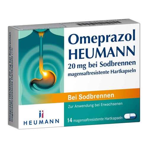 Omeprazol Heumann 20 mg b.Sodbr. magensaftresistent Hartk. - 1