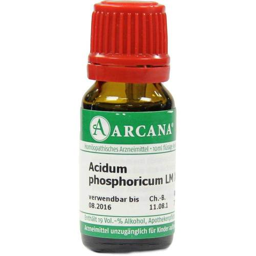 Acidum phosphoricum Arcana LM 18 Dilution - 1
