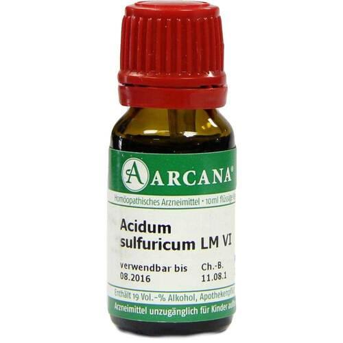 Acidum sulfuricum Arcana LM 6 Dilution - 1