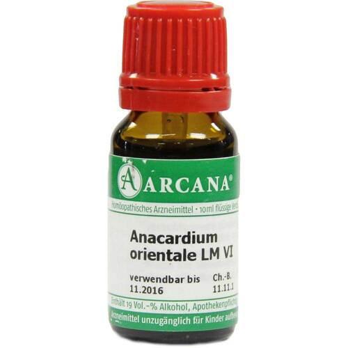 Anacardium Orientale Arcana LM 6 Dilution - 1