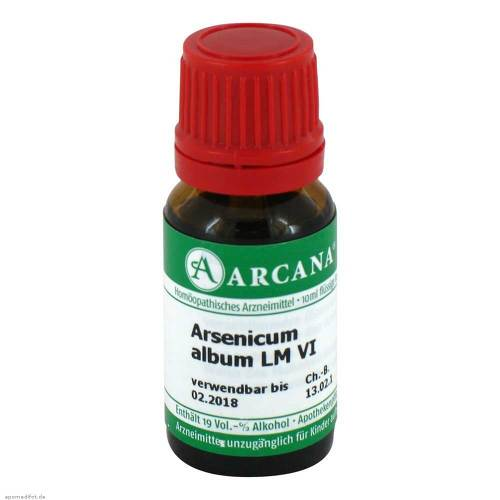 Arsenicum album Arcana LM 6 Dilution - 1