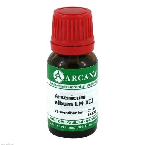 Arsenicum album Arcana LM 12 Dilution - 1