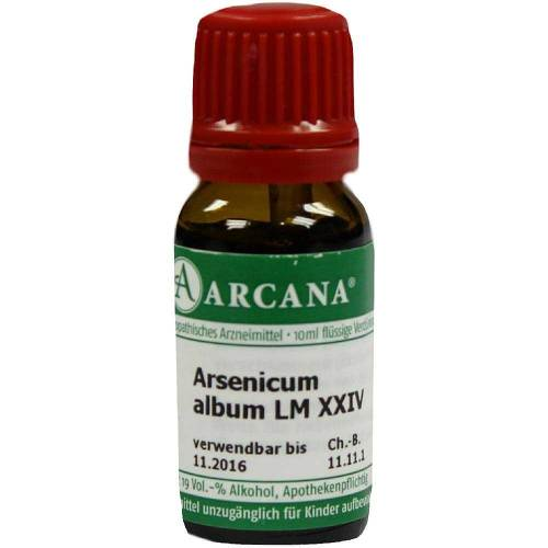 Arsenicum album Arcana LM 24 Dilution - 1