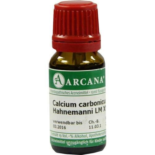 Calcium carbonicum Arcana LM 18 Hahnemanni Dil. - 1