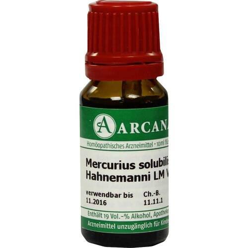 Mercurius solubilis Arcana LM 6 Hahnemanni Dilution - 1