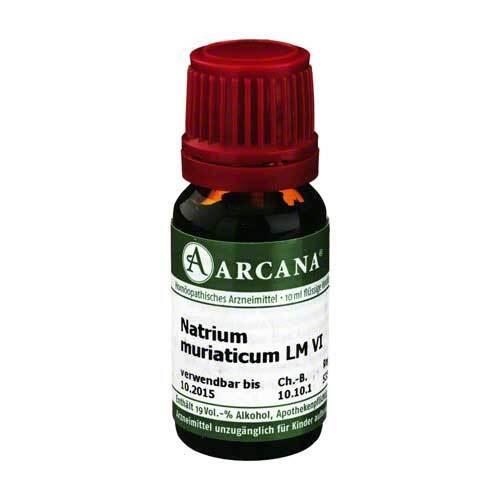 Natrium muriaticum Arcana LM 6 Dilution - 1