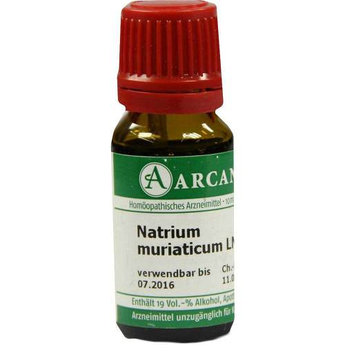 Natrium muriaticum Arcana LM 12 Dilution - 1