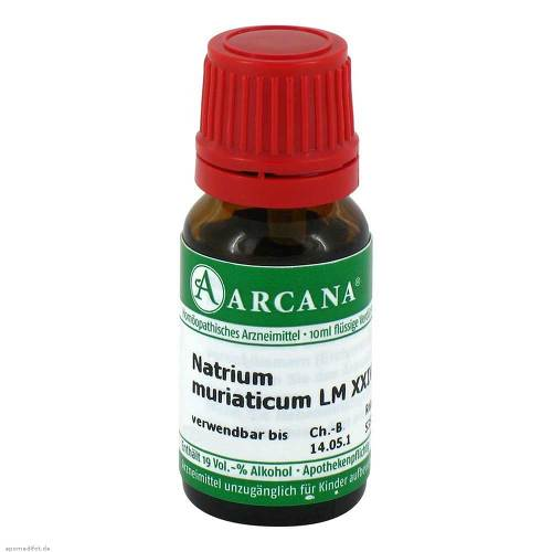 Natrium muriaticum Arcana LM 24 Dilution - 1