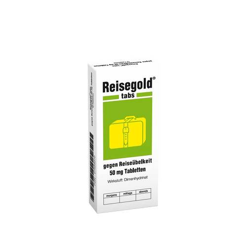 Reisegold Tabs gegen Reiseübelkeit - 1