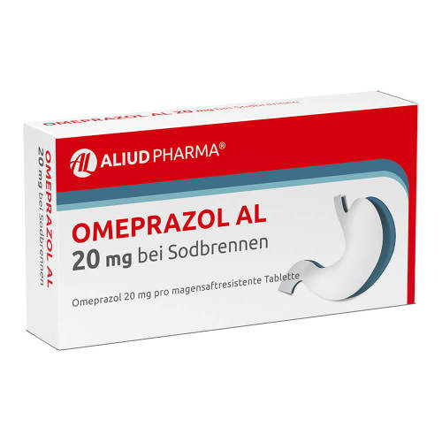Omeprazol AL 20 mg b.Sodbr. magensaftresistent Tabletten - 1