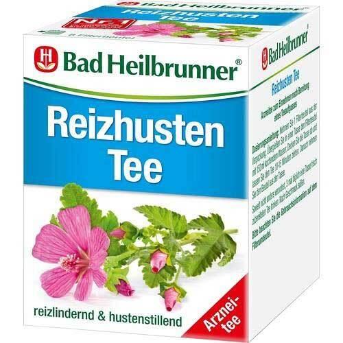 Bad Heilbrunner Tee Reizhusten Filterbeutel - 1