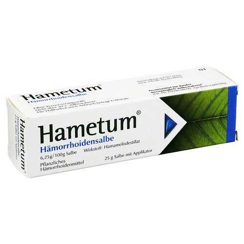 Hametum Hämorrhoiden Salbe - 1