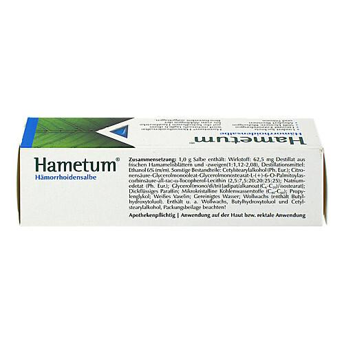 Hametum Hämorrhoiden Salbe - 2