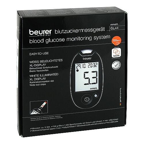 Beurer GL44 mmol / l Blutzuckermessgerät - 1