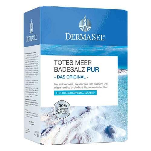 Dermasel Totes Meer Badesalz Pur - 1
