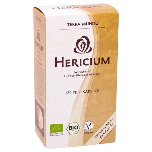 Hericium Vitalpilz Bio Terra Mundo Kapseln - 1