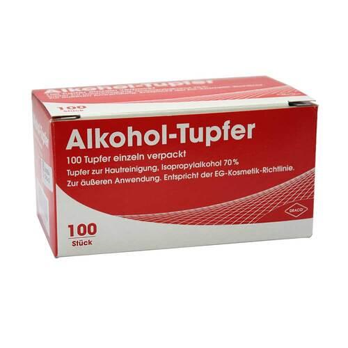 Alkoholtupfer einzeln verpac - 1
