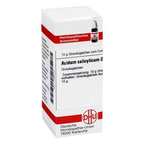 Acidum salicylicum D 30 Globuli - 1