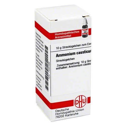 DHU Ammonium causticum D 12 Globuli - 1