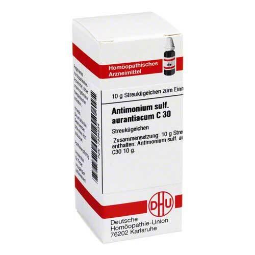 Antimonium sulfuratum aurantiacum C 30 Globuli - 1