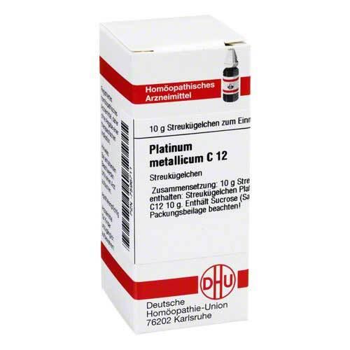 Platinum metallicum C 12 Globuli - 1